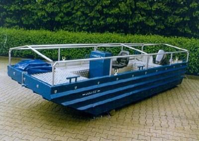 Алуминиева лодка тип 6620